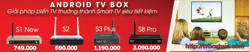 Android TV Box Gia re Hue